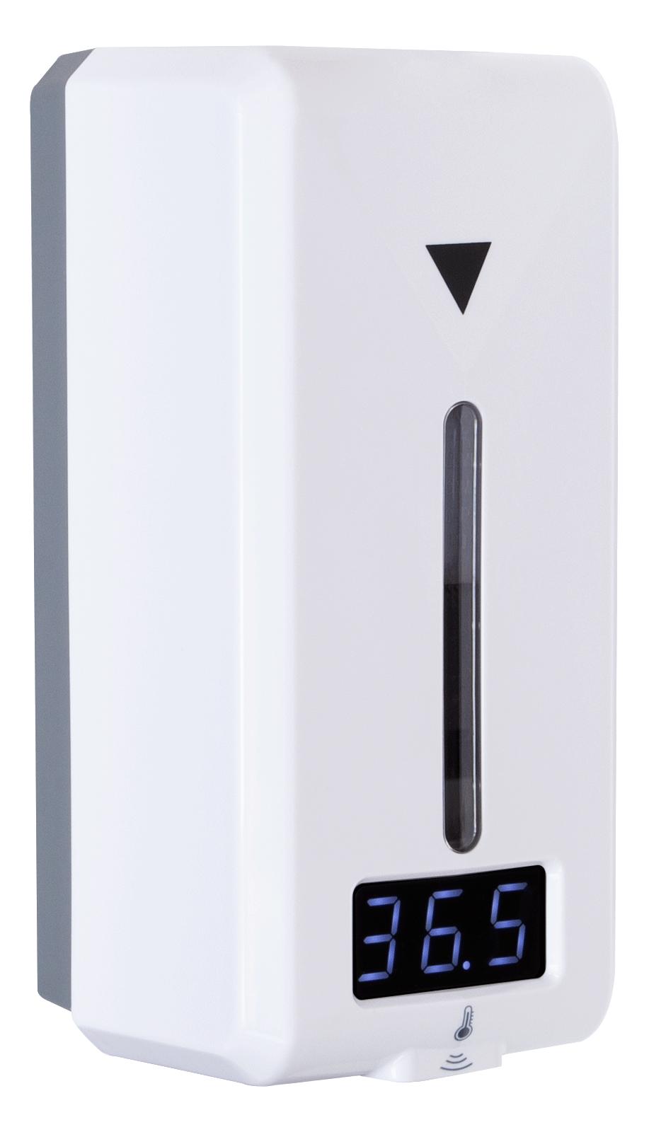 Avtomatski razkuževalnik z merilnikom telesne temperature - KOBTERM D40