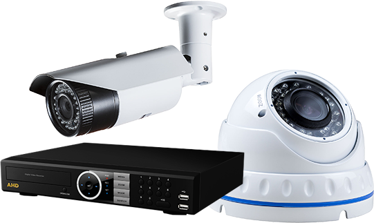 Indoor and outdoor videocamera and AHD recorders