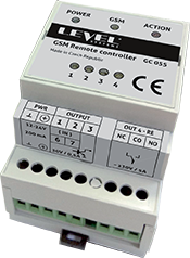 GSM LEVEL GC 055 communicator for monitoring and device remote control